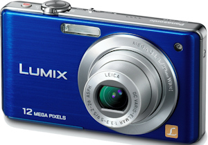 Panasonic's Lumix DMC-FS15 digital camera. Photo provided by Panasonic Consumer Electronics Co. Click for a bigger picture!