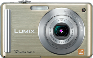 Panasonic's Lumix DMC-FS25 digital camera. Photo provided by Panasonic Consumer Electronics Co. Click for a bigger picture!