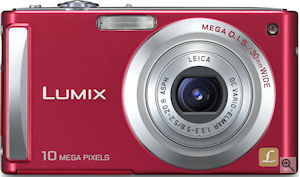 Panasonic's Lumix DMC-FS5 digital camera. Courtesy of Panasonic, with modifications by Michael R. Tomkins. Click for a bigger picture!