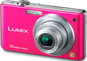 Panasonic's Lumix DMC-FS7 digital camera. Photo provided by Panasonic Consumer Electronics Co. Click for a bigger picture!