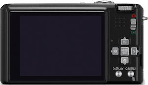 Panasonic's Lumix DMC-FX150 digital camera. Courtesy of Panasonic, with modifications by Michael R. Tomkins. Click for a bigger picture!