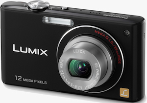 Panasonic's Lumix DMC-FX48 digital camera. Photo provided by Panasonic Consumer Electronics Co. Click for a bigger picture!