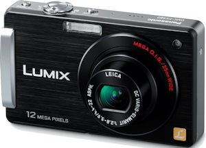 Panasonic's Lumix DMC-FX580 digital camera. Photo provided by Panasonic Consumer Electronics Co. Click for a bigger picture!