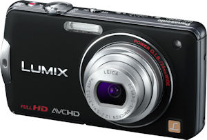 Panasonic's Lumix DMC-FX700 digital camera. Photo provided by Panasonic Consumer Electronics Co. Click for a bigger picture!