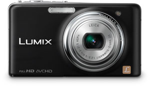 Panasonic's DMC-FX78 digital camera. Photo provided by Panasonic Consumer Electronics Co. Click for a bigger picture!
