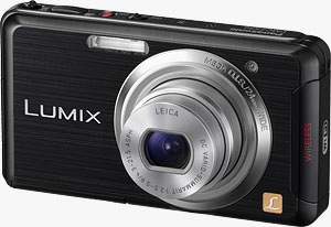 Panasonic's Lumix DMC-FX90 digital camera. Photo provided by Panasonic Consumer Electronics Co. Click for a bigger picture!