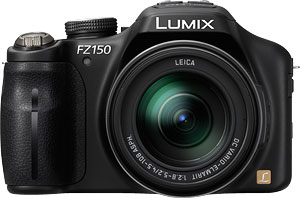 Panasonic's Lumix DMC-FZ150 digital camera. Photo provided by Panasonic Consumer Electronics Co. Click for a bigger picture!