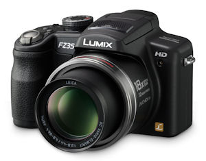 Panasonic's Lumix DMC-FZ35 digital camera. Photo provided by Panasonic Consumer Electronics Co. Click for a bigger picture!
