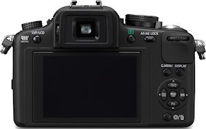 Panasonic's Lumix DMC-G10 digital camera. Photo provided by Panasonic Consumer Electronics Co. Click for a bigger picture!