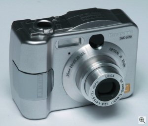Panasonic's Lumix DMC-LC50 digital camera. Courtesy of Matsushita Electric Industrial Co. Ltd.