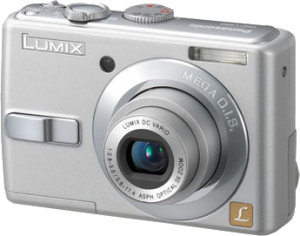 Panasonic's Lumix DMC-LS60 digital camera. Courtesy of Panasonic, with modifications by Michael R. Tomkins.