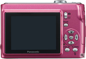 Panasonic's Lumix DMC-LS80 digital camera. Courtesy of Panasonic, with modifications by Michael R. Tomkins. Click for a bigger picture!