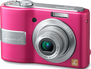 Panasonic's Lumix DMC-LS85 digital camera. Photo provided by Panasonic Consumer Electronics Co. Click for a bigger picture!