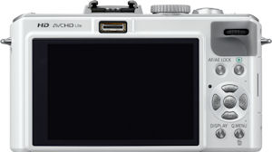 Panasonic's Lumix DMC-LX5 digital camera. Photo provided by Panasonic Consumer Electronics Co. Click for a bigger picture!