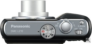 Panasonic's Lumix DMC-LZ10 digital camera. Courtesy of Panasonic, with modifications by Michael R. Tomkins. Click for a bigger picture!
