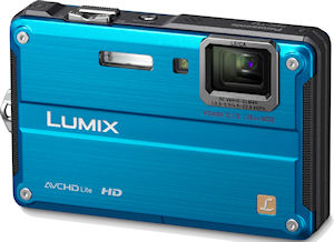 Panasonic's Lumix DMC-TS2 digital camera. Photo provided by Panasonic Consumer Electronics Co. Click for a bigger picture!