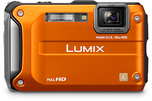 Panasonic's DMC-TS3 digital camera. Photo provided by Panasonic Consumer Electronics Co. Click for a bigger picture!
