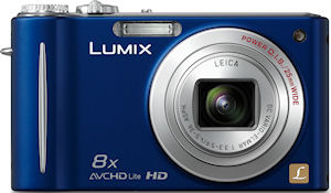 Panasonic's Lumix DMC-ZR3 digital camera. Photo provided by Panasonic Consumer Electronics Co. Click for a bigger picture!