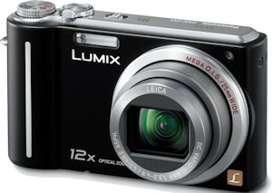Panasonic's Lumix DMC-ZS1 digital camera. Photo provided by Panasonic Consumer Electronics Co. Click for a bigger picture!