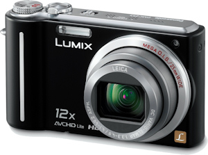 Panasonic's Lumix DMC-ZS3 digital camera. Photo provided by Panasonic Consumer Electronics Co. Click for a bigger picture!