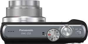 Panasonic's Lumix DMC-ZS5 digital camera. Photo provided by Panasonic Consumer Electronics Co. Click for a bigger picture!