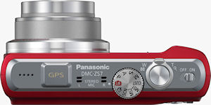 Panasonic's Lumix DMC-ZS7 digital camera. Photo provided by Panasonic Consumer Electronics Co. Click for a bigger picture!