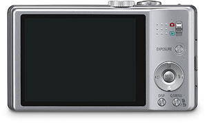 Panasonic's DMC-ZS8 digital camera. Photo provided by Panasonic Consumer Electronics Co. Click for a bigger picture!