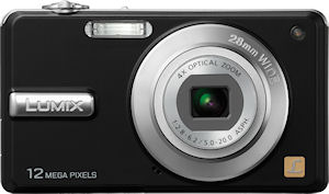 Panasonic's Lumix DMC-F3 digital camera. Photo provided by Panasonic Consumer Electronics Co. Click for a bigger picture!