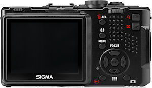 Sigma's DP1x digital camera. Photo provided by Sigma Corp. Click for a bigger picture!