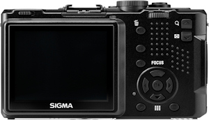 Sigma's DP2 digital camera. Photo provided by Sigma Corp. Click for a bigger picture!
