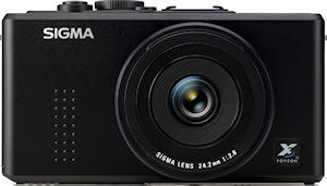 Sigma's DP2s digital camera. Photo provided by Sigma Corp. Click for a bigger picture!