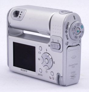 Sony Cyber-shot DSC-F88 digital camera. Copyright (c) 2004, The Imaging Resource. All rights reserved. Click for a bigger picture!