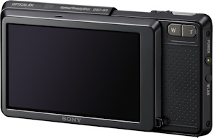Sony's Cyber-shot DSC-G3 digital camera. Photo provided by Sony Electronics Inc. Click for a bigger picture!