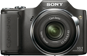 Sony's Cyber-shot DSC-H20 digital camera. Photo provided by Sony Electronics Inc. Click for a bigger picture!