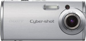 Sony's Cyber-shot DSC-L1 digital camera. Courtesy of Sony, with modifications by Michael R. Tomkins. Click for a bigger picture!