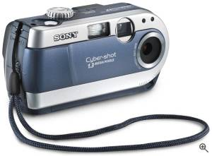 Sony's DSC-P20 digital camera. Courtesy of Sony. Click for a bigger picture!