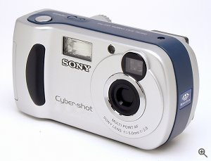 Sony's DSC-P31 digital camera. Copyright © 2002, The Imaging Resource. All rights reserved. Click for a bigger picture!