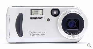 Sony's DSC-P51 digital camera. Copyright © 2002, The Imaging Resource. All rights reserved. Click for a bigger picture!