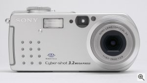Sony's Cyber-shot DSC-P5 digital camera. Copyright © 2001 The Imaging Resource. All rights reserved. Click for a bigger picture!