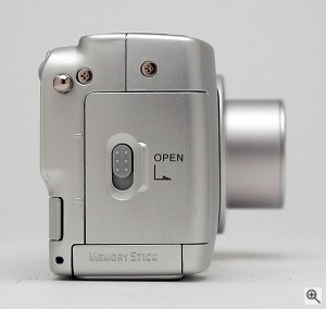 Sony's DSC-P71 digital camera. Copyright © 2002, The Imaging Resource. All rights reserved. Click for a bigger picture!