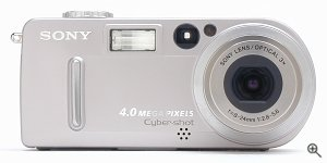 Sony's Cyber-shot DSC-P9 digital camera. Copyright © 2002, The Imaging Resource. All rights reserved.