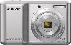 Sony's Cyber-shot DSC-S2100 digital camera. Photo provided by Sony. Click for a bigger picture!
