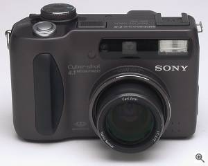 Sony's DSC-S85 digital camera. Copyright (c) 2001, The  Imaging Resource. All rights reserved. Click for a bigger picture!
