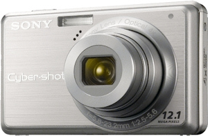 Sony's Cyber-shot DSC-S980 digital camera. Photo provided by Sony Electronics Inc. Click for a bigger picture!