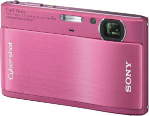 Sony's Cyber-shot DSC-TX1 digital camera. Photo provided by Sony Electronics Inc. Click for a bigger picture!