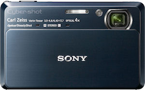 Sony's Cyber-shot DSC-TX7 digital camera. Photo provided by Sony. Click for a bigger picture!