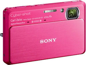 Sony's Cyber-shot DSC-TX9 digital camera. Photo provided by Sony Electronics Inc. Click for a bigger picture!