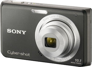 Sony's Cyber-shot DSC-W180 digital camera. Photo provided by Sony Europe. Click for a bigger picture!