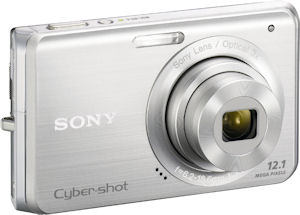 Sony's Cyber-shot DSC-W190 digital camera. Photo provided by Sony Europe. Click for a bigger picture!