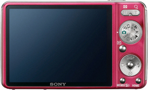Sony's Cyber-shot DSC-W230 digital camera. Photo provided by Sony Electronics Inc. Click for a bigger picture!